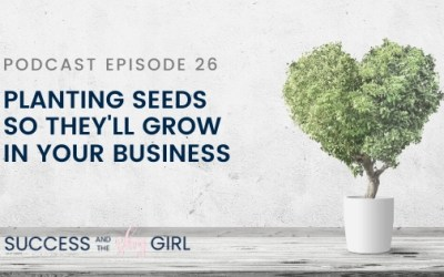 Episode 26 – Planting seeds so they'll grow in your business