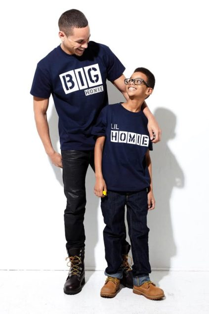 Big Homie Lil Homie t-shirts