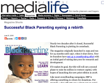 Medialife successful black parenting