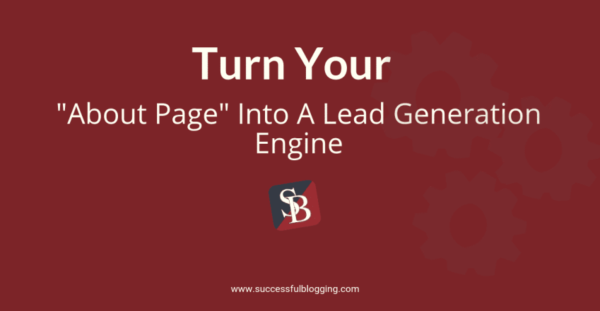 about page on your blog