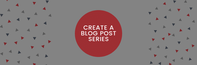 blog post series