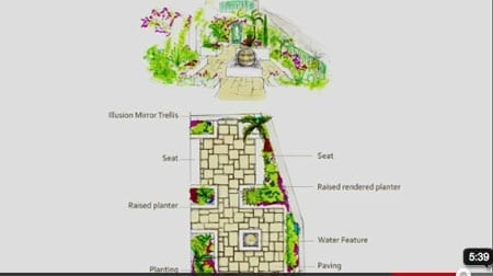 How to build a courtyard garden [part 4]