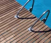 Teak hardwood decking