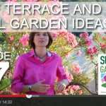 [DESIGN SHOW 17] – Roof Terrace and Small Garden Ideas