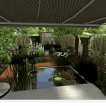 Sander's Long Garden in Holland – GGF student design Part 1