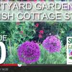 [DESIGN SHOW 20] – Courtyard gardens & English cottage style