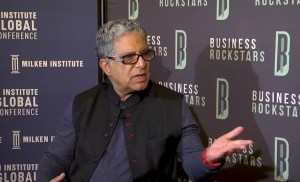 Dr. Deepak Chopra: Good Luck = Opportunity + Preparedness
