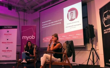 Startup Grind Wellington Hosts Victoria Armstrong, COO of WhosOnLocation