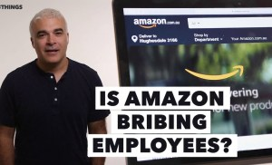 Is Amazon Bribing Its Employees? 3 Things to Know Today.