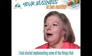 My free content can double your business in two months