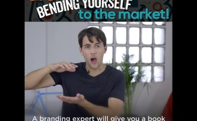STOP bending yourself to the market!