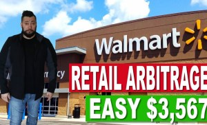 Amazon FBA Retail Arbitrage:  The Easiest Way To Make $3,000 A Month