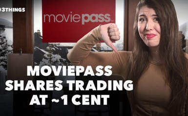 MoviePass Shares Trading at Just Over 1 Cent, Google+ Shuts Down Early and Facebook Files Patents