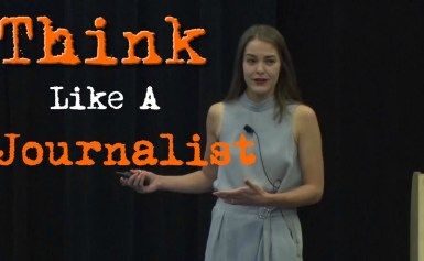 #CMWorld 2019 – Think Like a Journalist – Melanie Deziel