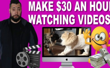 How To Make $30 An  Hour Just By WATCHING VIDEOS  (WORK FROM ANYWHERE)