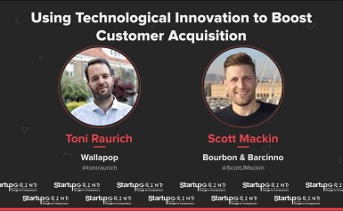 Toni Raurich (Wallapop) @ Startup Grind BCN Conference 2018