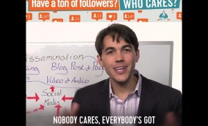 Who cares if you have a ton of followers?