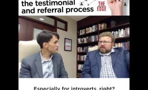 Breaking down the testimonial and referral process