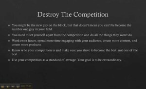 How To Be Successful In A Competitive Niche