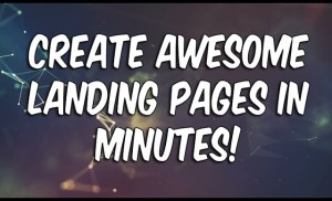 How To Create A Landing Page In WordPress In 5 Minutes!