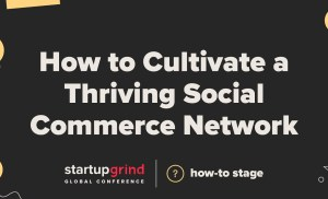 How to Cultivate a Thriving Social Commerce Network —  Manish Chandra (Co-founder + CEO, Poshmark)