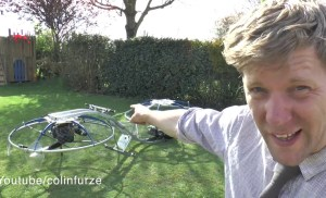 Watch This Guy Ride a Homemade Hoverbike