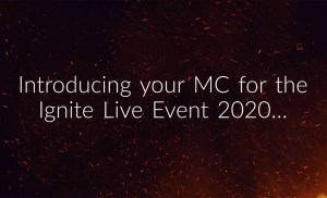 Ignite Live Event 2020 – Empowerment Convention Master of Ceremonies