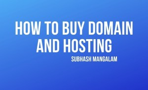 How to Buy a Domain and Hosting Tutorial For Beginers