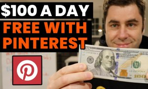 How To Make Money On Pinterest In 2020! ($100 Per Day FREE)