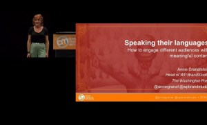 #CMWorld 2019 – Engage Different Audiences with Unique Content (Full video) – Annie Granatstein