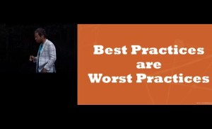 #CMWorld 2019 – No More Best Practices: Unsiloed Big Data Helps Predict Content Value – Wil Reynolds