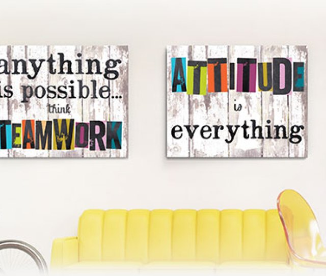 Inspirational Office Art