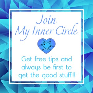 Join my Inner Circle. Get free tips and always be first to get the good stuff.