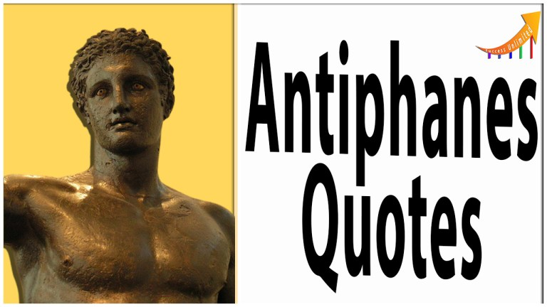 Antiphanes quotes