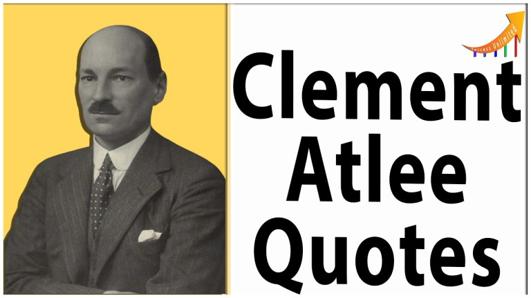 Clement Atlee quotes