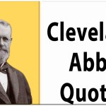 Cleveland Abbe quotes