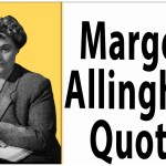 Margery Allingham quotes