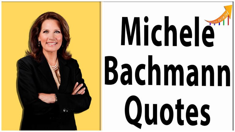 Michele Bachmann quotes