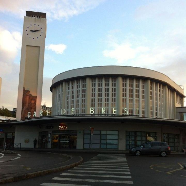 foto Stazione di Brest, Bretagna