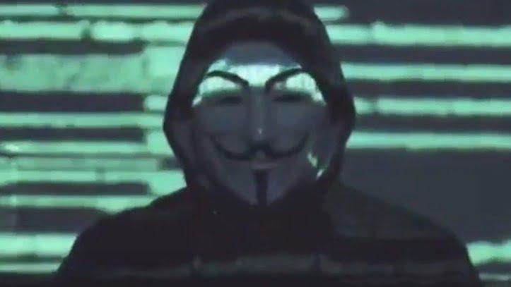 Hacker de la agrupación Anonymous habla en un comunicado sobre las revelaciones que saldrán a la luz.