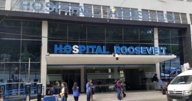 Entrada del hospital roosevelt