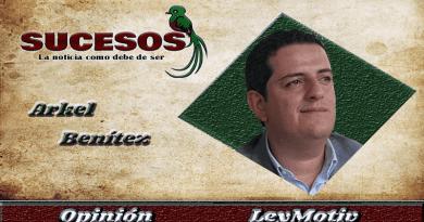 Arkel benítez columnista de Sucesos Guatemala