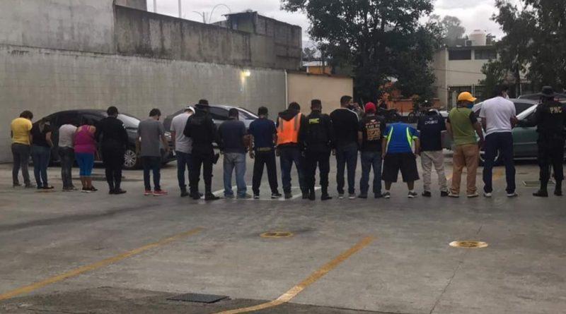 Capturados en fiesta clandestina realizada en zona 19