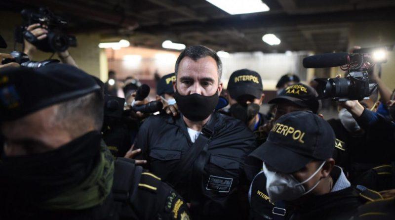 Alejandro Sinibaldi ex ministro de comunicaciones de Guatemala, acusado de corrupción