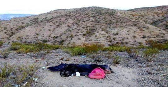 Cadáver de una guatemalteca que murió al tratar de llegar de manera ilegal a Estados Unidos
