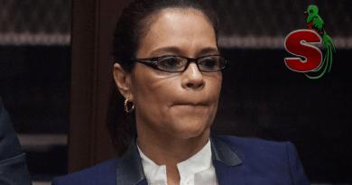 La corrupta Roxana Baldetti ex-vicepresidenta de Guatemala que le robo millones de dolares al país, ahora guarda prisión