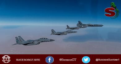 Estados Unidos USA ordena a sus bombarderos más pderosos sobrevolar el medio oriente.