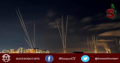 Palestina lanza cohetes en contra de Israel