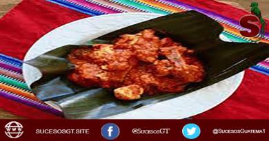 Delicioso plattillo de la receta de subanik guatemalteco