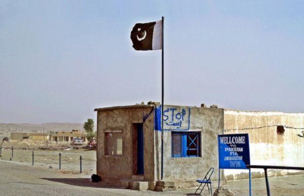 Taftan border in Chaghai district.
